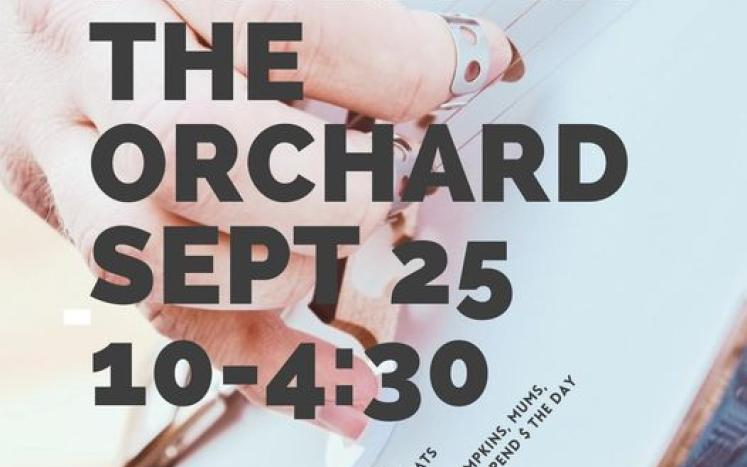 Pickin' in the Orchard September 25th 10-4:30 @ Gathering Winds Farm